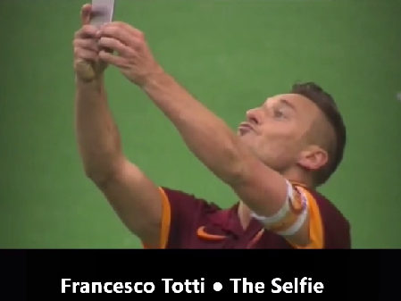 результаты спорта live: francesco totti - the selfie